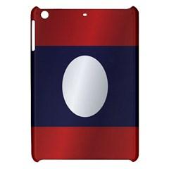 Flag Of Laos Apple iPad Mini Hardshell Case by artpics