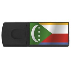 Flag Of Comoros USB Flash Drive Rectangular (4 GB)