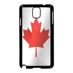 Flag Of Canada Samsung Galaxy Note 3 Neo Hardshell Case (Black) by artpics