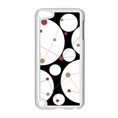 Decorative circles Apple iPod Touch 5 Case (White) by Valentinaart