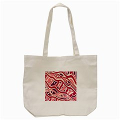 Pink and purple abstract art Tote Bag (Cream) by Valentinaart