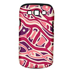 Pink And Purple Abstract Art Samsung Galaxy S Iii Classic Hardshell Case (pc+silicone) by Valentinaart