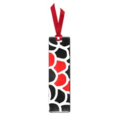 Red, Black And White Abstraction Small Book Marks by Valentinaart
