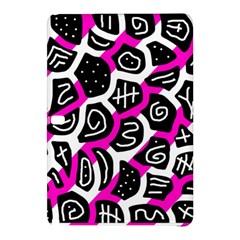 Magenta playful design Samsung Galaxy Tab Pro 10.1 Hardshell Case