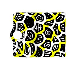 Yellow Playful Design Kindle Fire Hdx 8 9  Flip 360 Case by Valentinaart