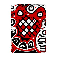 Red High Art Abstraction Samsung Galaxy Note 10 1 (p600) Hardshell Case by Valentinaart