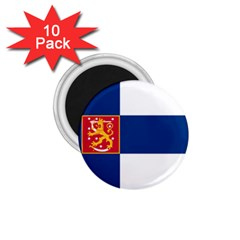 State Flag of Finland  1.75  Magnets (10 pack)  by abbeyz71