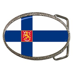 State Flag Of Finland  Belt Buckles by abbeyz71