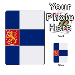 State Flag Of Finland  Multi Purpose Cards (rectangle)  by abbeyz71