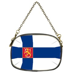 State Flag Of Finland  Chain Purses (one Side)  by abbeyz71
