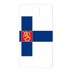 State Flag Of Finland  Samsung Galaxy Note 3 N9005 Hardshell Back Case by abbeyz71