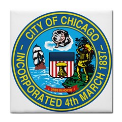 Seal of Chicago Tile Coasters by abbeyz71