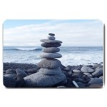 STACKING STONES ZEN BALANCE FORMATED TEMPLATE  FOR DOORMAT MATCHING SET  : S - Large Doormat