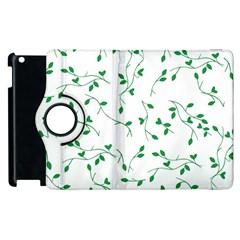 Nature Pattern Apple Ipad 2 Flip 360 Case by gumacreative