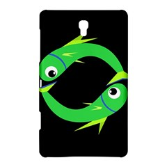 Green Fishes Samsung Galaxy Tab S (8 4 ) Hardshell Case  by Valentinaart