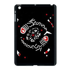 Abstract Fishes Apple Ipad Mini Case (black) by Valentinaart