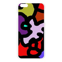 Colorful abstraction by Moma Apple Seamless iPhone 6 Plus/6S Plus Case (Transparent) by Valentinaart