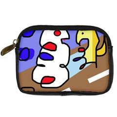 Abstract Comic Digital Camera Cases by Valentinaart