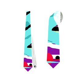 Abstract Animal Neckties (two Side)  by Valentinaart
