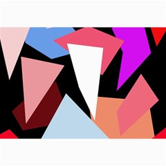 Colorful Geometrical Design Collage Prints by Valentinaart