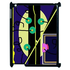 Crazy Abstraction By Moma Apple Ipad 2 Case (black) by Valentinaart