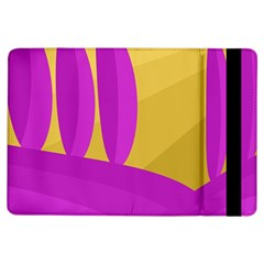 Yellow And Magenta Landscape Ipad Air Flip by Valentinaart