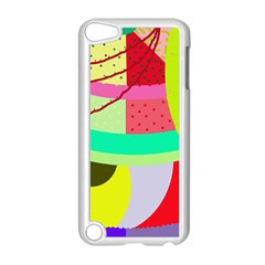 Colorful Abstraction By Moma Apple Ipod Touch 5 Case (white) by Valentinaart