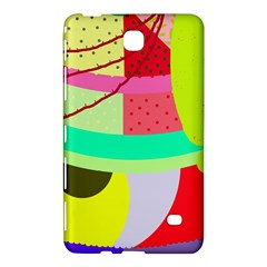 Colorful abstraction by Moma Samsung Galaxy Tab 4 (7 ) Hardshell Case  by Valentinaart