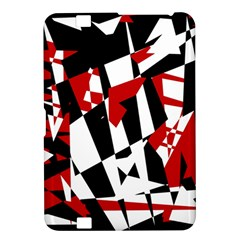 Red, black and white chaos Kindle Fire HD 8.9  by Valentinaart