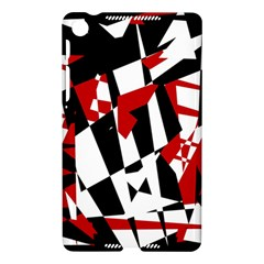 Red, black and white chaos Nexus 7 (2013) by Valentinaart