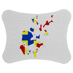 Flag Map Of Orkney Islands  Jigsaw Puzzle Photo Stand (bow) by abbeyz71