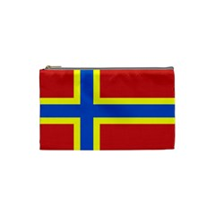 Flag Of Orkney Cosmetic Bag (small)  by abbeyz71