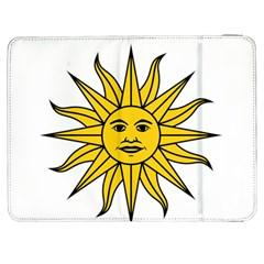 Uruguay Sun of May Samsung Galaxy Tab 7  P1000 Flip Case by abbeyz71