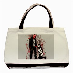 Say Please Basic Tote Bag (two Sides) by lvbart