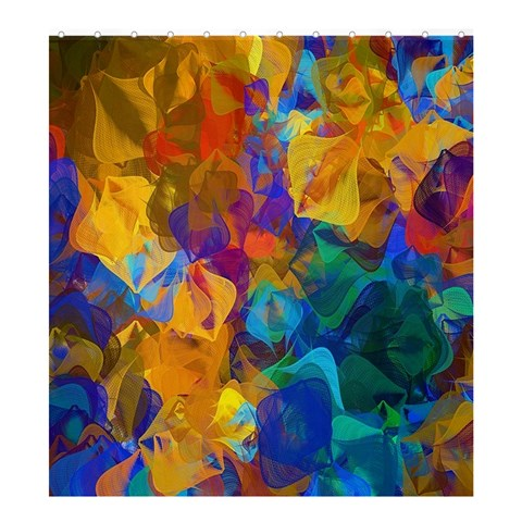 Abstract Shower Curtain Formatted Tempate For :  Shower Curtain Templateor Product: Shower Curtain By Pamela Sue Goforth   Shower Curtain 66  X 72  (large)   E1b3k2uwqxqm   Www Artscow Com 66 x72 Curtain
