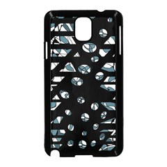 Blue freedom Samsung Galaxy Note 3 Neo Hardshell Case (Black) by Valentinaart