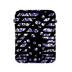 Purple Freedom Apple Ipad 2/3/4 Protective Soft Cases by Valentinaart