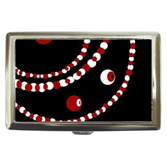 Red Pearls Cigarette Money Cases by Valentinaart