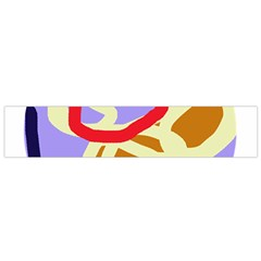 Abstract Circle Flano Scarf (small) by Valentinaart