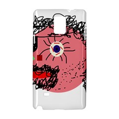 Abstract Face Samsung Galaxy Note 4 Hardshell Case by Valentinaart