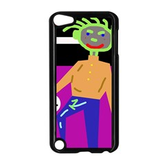 Goalkeeper Apple Ipod Touch 5 Case (black) by Valentinaart