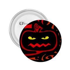 Halloween Pumpkin 2 25  Buttons by Valentinaart
