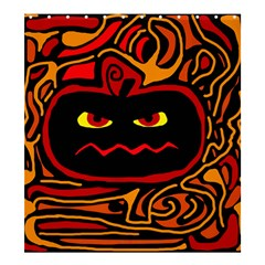 Halloween Decorative Pumpkin Shower Curtain 66  X 72  (large)  by Valentinaart