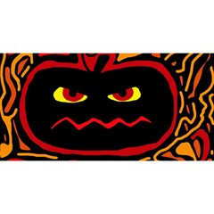 Halloween Decorative Pumpkin You Are Invited 3d Greeting Card (8x4) by Valentinaart