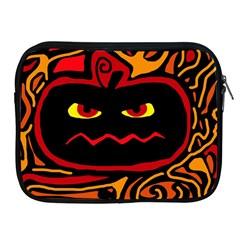 Halloween Decorative Pumpkin Apple Ipad 2/3/4 Zipper Cases by Valentinaart