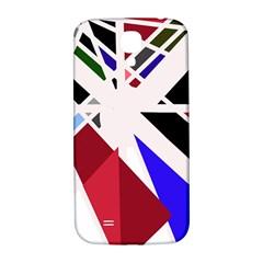 Decorative Flag Design Samsung Galaxy S4 I9500/i9505  Hardshell Back Case by Valentinaart