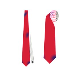 Red Neon Neckties (two Side)  by Valentinaart