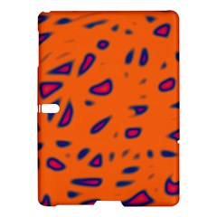 Orange neon Samsung Galaxy Tab S (10.5 ) Hardshell Case  by Valentinaart