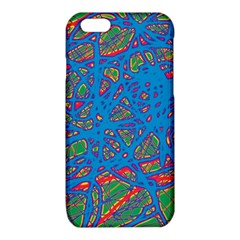 Colorful neon chaos iPhone 6/6S TPU Case by Valentinaart