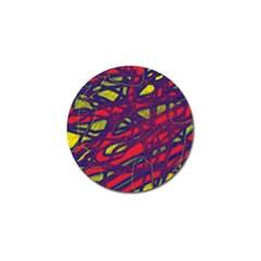 Abstract High Art Golf Ball Marker (10 Pack) by Valentinaart
